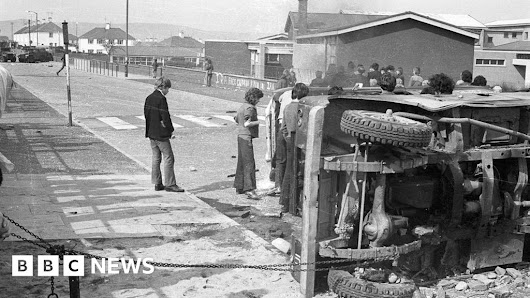 The little school on the front line in 1970s Londonderry - BBC News