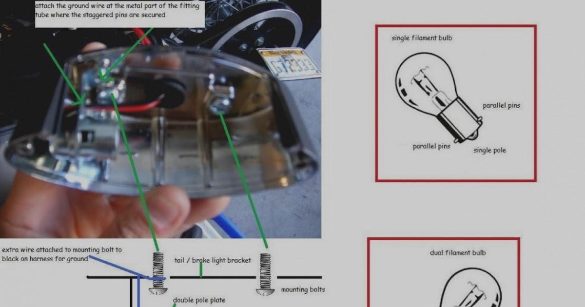Harley Davidson Sportster Tail Light Wiring Diagram