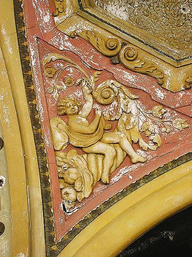 Teatro Michigan Detalhe dos arabescos