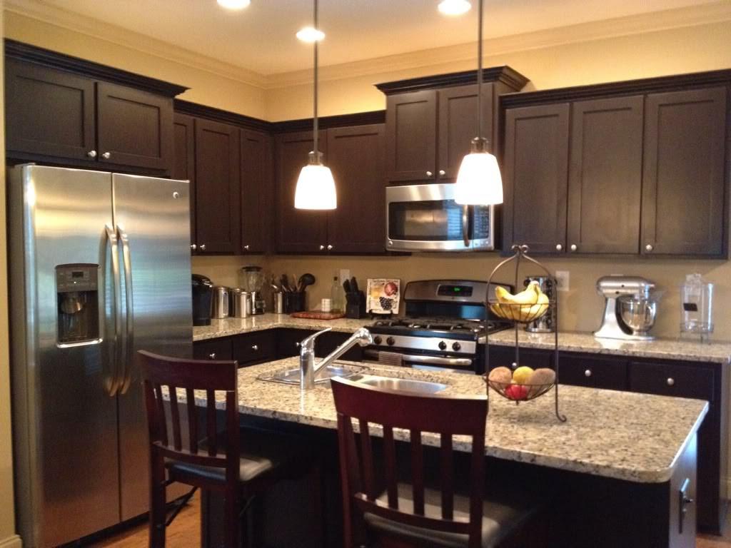 Espresso Kitchen Cabinet Kitchen Ideas