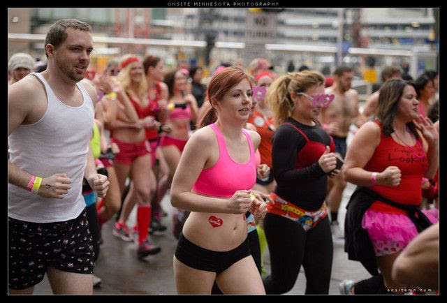 Cupid's Undie Run pics