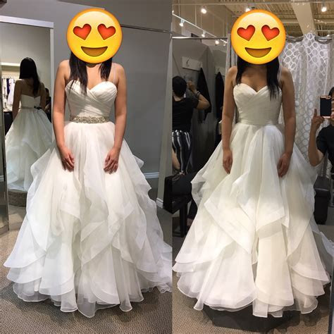 "Any brides try on Mori Lee 5504 ""Marissa""?"