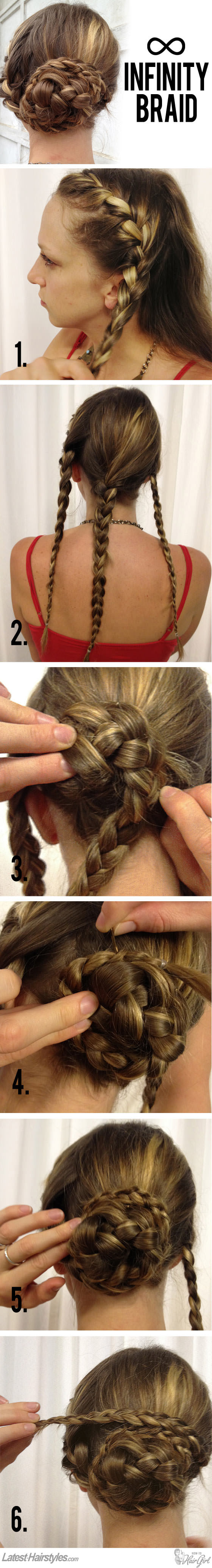 Learn How To Create This Gorgeous Infinity Braid