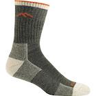 Darn Tough Hiker Micro Crew Cushion Socks - Men's, Olive / Medium