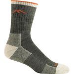 Darn Tough Men's Hiker Micro Crew Cushion Sock - Olive