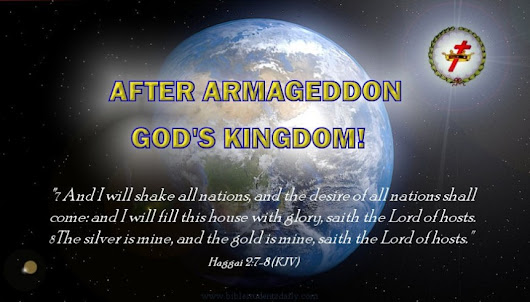 HAGGAI 2:7 – The Desire Of All Nations Shall Come