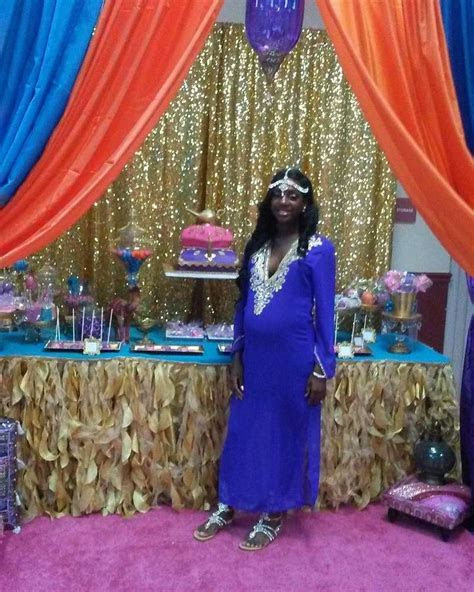 Arabian Nights Baby Shower Party Ideas   Photo 1 of 23