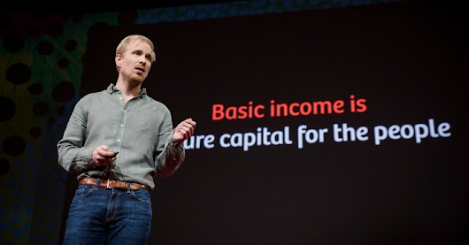 Because It's Time for 'New, Radical Ideas,' TED Talk on Universal Basic Income Gets Thunderous Applause