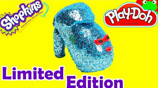 Play Doh Surprise Egg Shopkins Season 2 Limited Edition Angie Ankle Boot 1 12 Packs