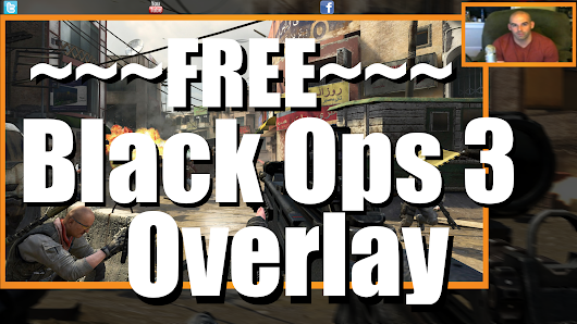 Black Ops 3 Twitch Overlay Free - Free Twitch Overlays and Gaming Graphics for YouTube and Twitch Videos