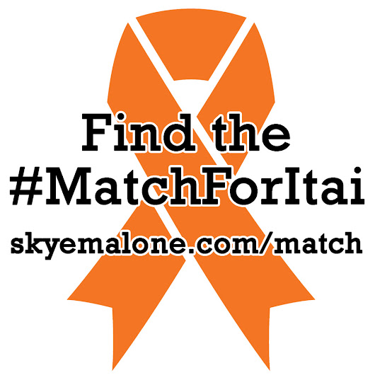 Be The Match for Itai | Skye Malone - Fantasy Author