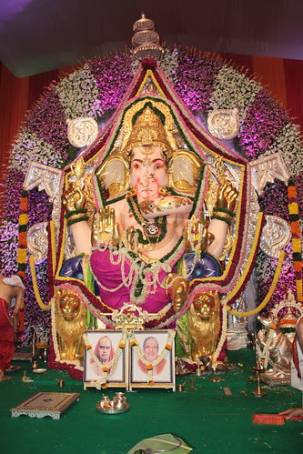 The King Of Kings Of King Circle GSB Lord Ganesha 2012 by firoze shakir photographerno1