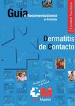 Recomendaciones Pacientes. Dermatitis de contacto