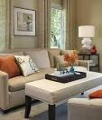 Modern Living Room Decorating Ideas with Elegant and Luxury Sofa