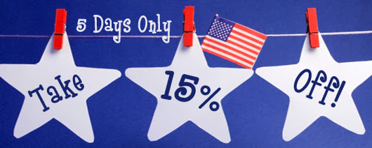 4th Of July Promotion On Party Supplies