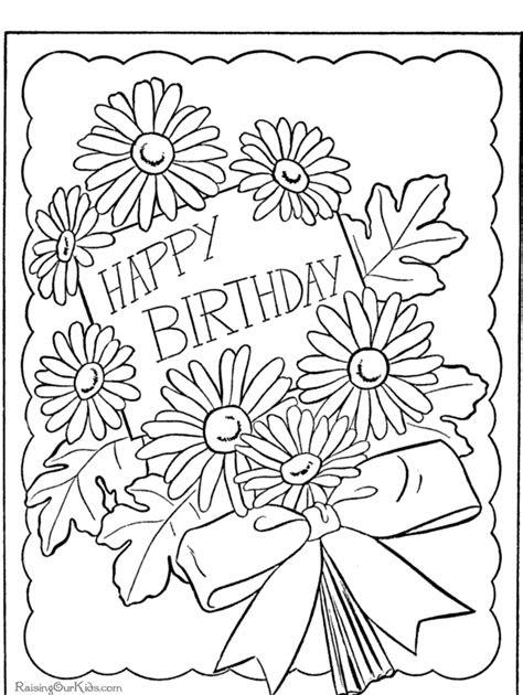 ausmalbilder zum ausdrucken happy birthday  kostenlose
