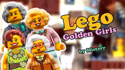 Lego Golden Girls Kitchen