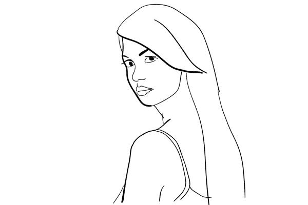Позирование: позы для женского портрета 1-1