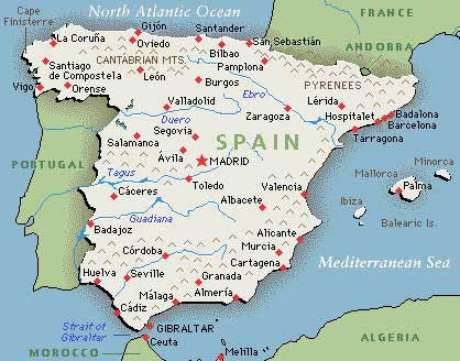 Map Of Spain Majorca.Where Is Mallorca In Spain Map World Map