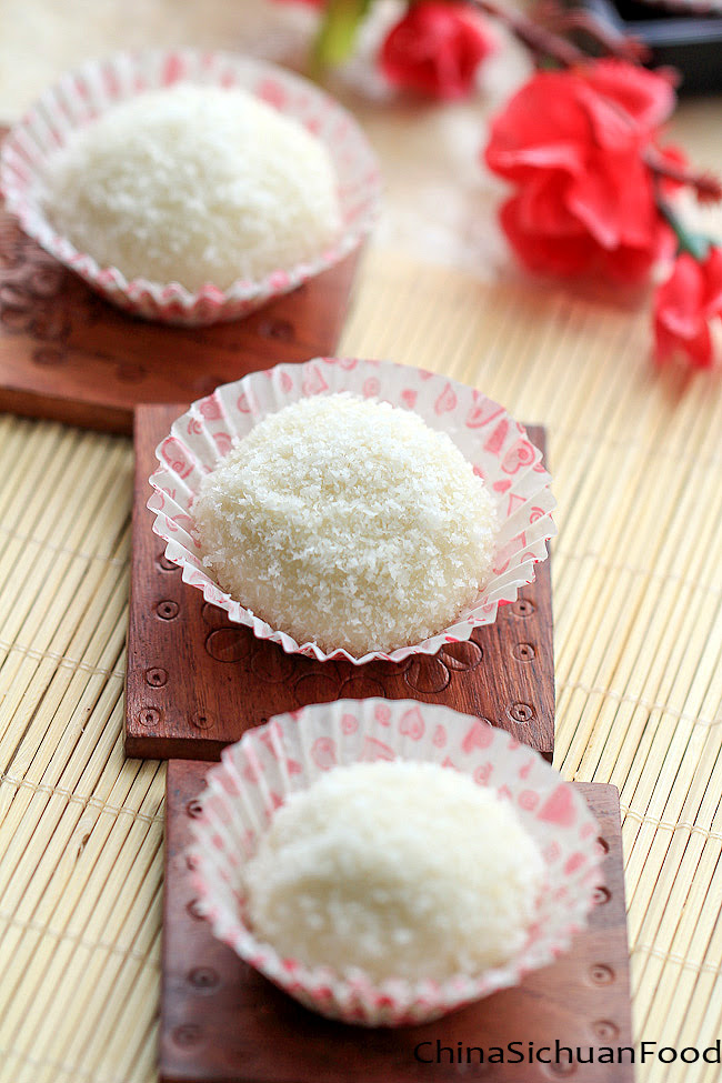 Sticky Rice Balls-Nuomici | China Sichuan Food