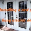 How To Install a Prehung Door - Replacing an Exterior Door