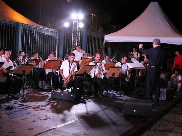Orquestra se apresentou após cerimônia (Foto: Frank Cunha/G1)