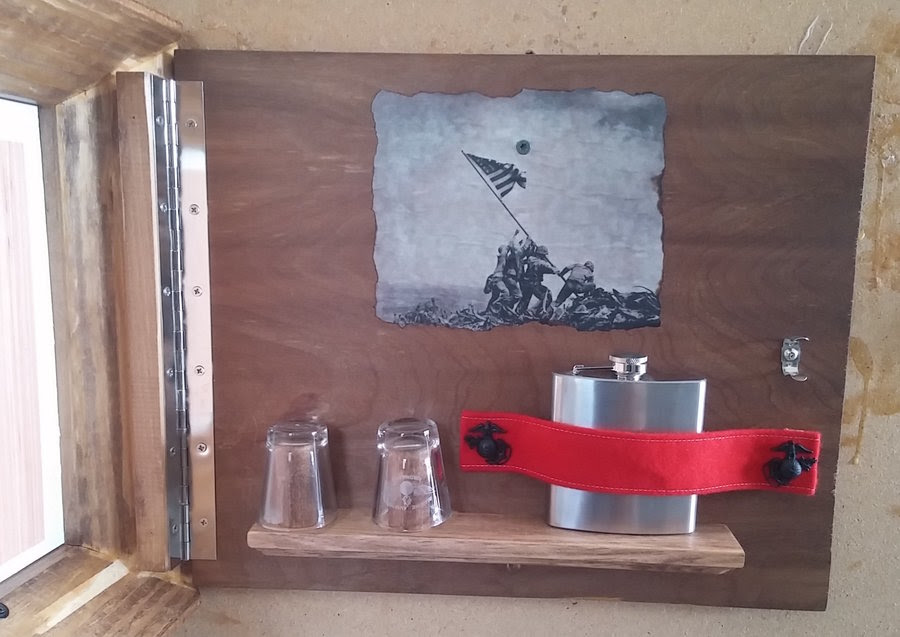 Picture Frame W Hidden Compartment By Demy At Lumberjockscom