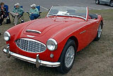 Austin Healy: Ominous message