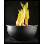 Fortune Products FLM-200 10 in. Flame Light Table Top or Hanging Battery Operated