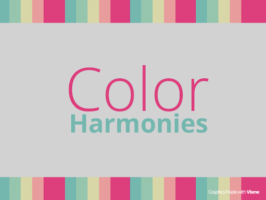 Color harmony: Essential tips on selecting colors in design