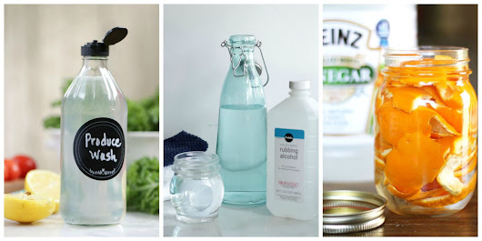 10 Easy, Natural, DIY Cleaning Products