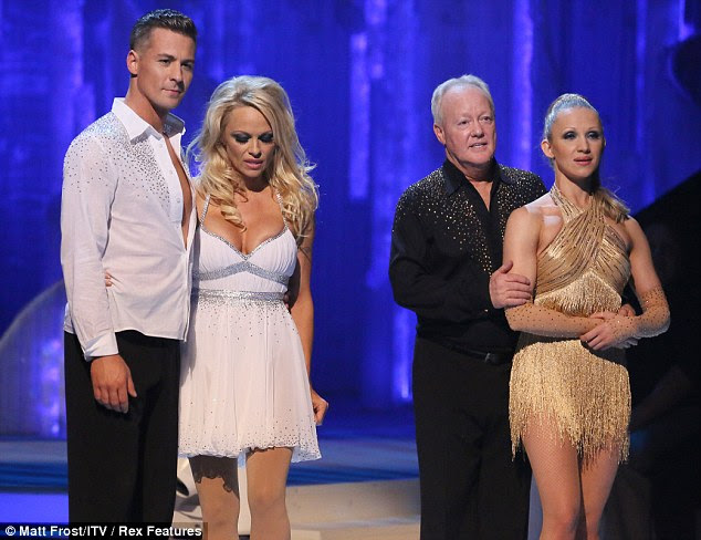 Tension: Matt, Pamela, Keith and Olga wait for the judges to decide their fate