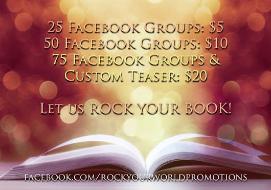 I will promote your book in 25 Facebook groups