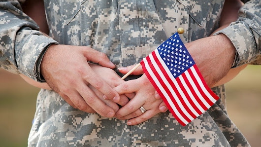 America should always appreciate military spouses --they serve, too