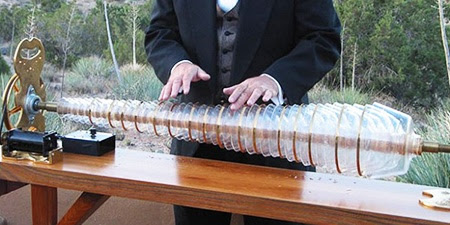 "The Glass Armonica is Described As ""The Sound of Angels Singing"" 