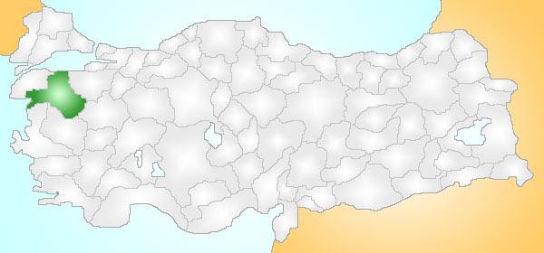 Archivo:Balıkesir Turkey Provinces locator.jpg