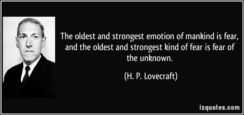 The Secret Fear Of The Unknown In The Moment