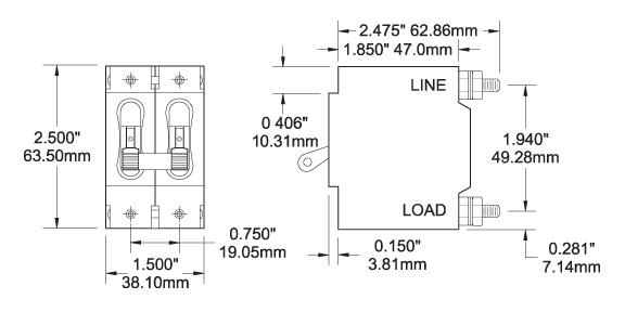 2 Pole Mcb Wiring Diagram - Wiring Diagram Schemas