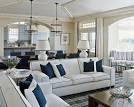 Subtle Blue and White Combination in House Interior Design | Dream ...