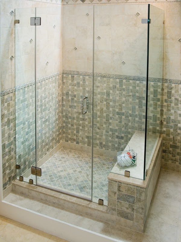Frameless Easco Shower Doors