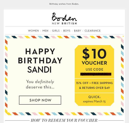 Birthday Emails: Add These to Your Program
