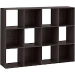 Room Essentials 12-Cube Organizer Shelf, Espresso Brown