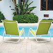 Telescope Casual Gardenella Sling Stacking Poolside Chair - patio furniture and outdoor furniture - miami - by Atlantic Patio Furniture