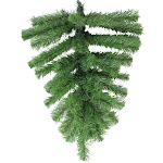 """22"""" Green Colorado Spruce Artificial Christmas Teardrop Swag - Unlit by Christmas Central"""