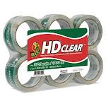 Duck Heavy-Duty CT Packaging Tape, 1.88 x 55 yds, 6 Rolls (DUCCS556PK)