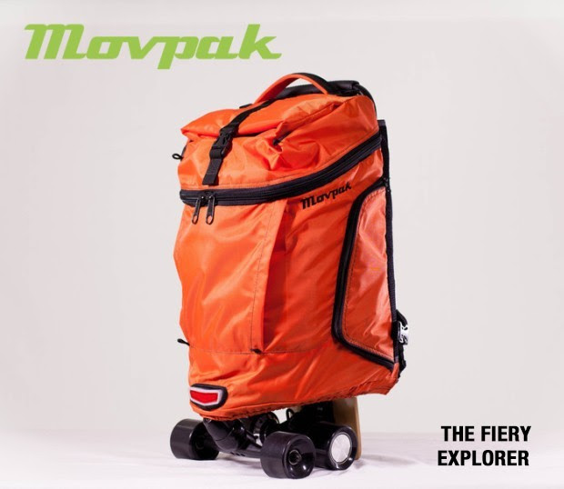 Movpack Is an Electric Skateboard Backpack We Fell in Love With  autoevolution