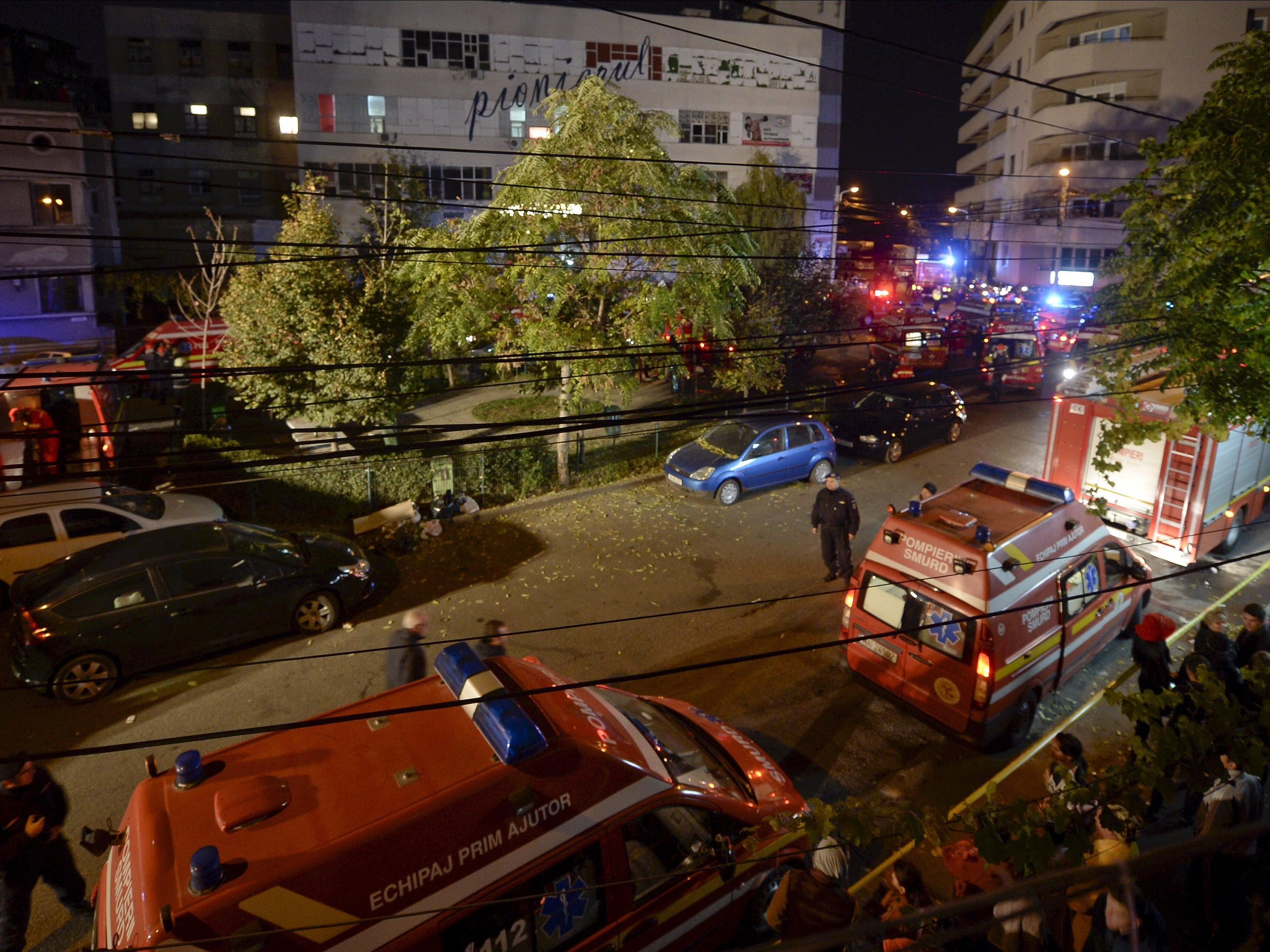 Romania nightclub explosion