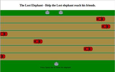 The Lost Elephant | js13kGames