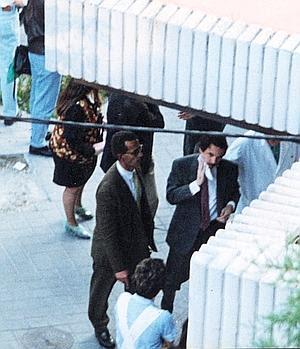 José María Aznar: «Voy a llegar un poco más tarde, anuladme las reuniones»