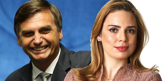 Rachel Sheherazade pode ganhar apoio de Bolsonaro para concorrer em 2018